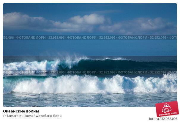 Океанские волны. Стоковое фото, фотограф Tamara Kulikova / Фотобанк Лори