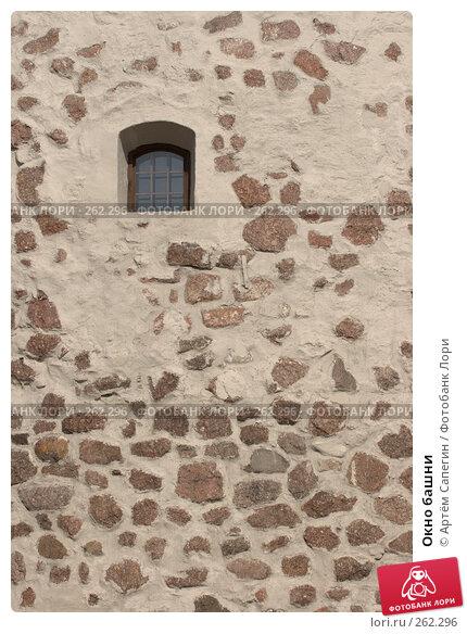 Окно башни, фото № 262296, снято 27 мая 2006 г. (c) Артём Сапегин / Фотобанк Лори