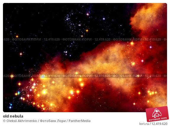 Купить «old nebula», фото № 12419620, снято 23 июля 2019 г. (c) PantherMedia / Фотобанк Лори