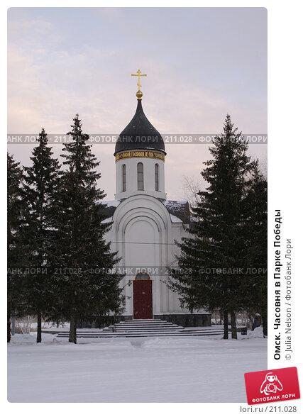 Омск. Часовня в Парке Победы, фото № 211028, снято 5 января 2008 г. (c) Julia Nelson / Фотобанк Лори