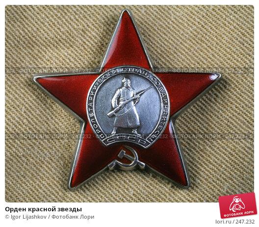Орден красной звезды, фото № 247232, снято 10 апреля 2008 г. (c) Igor Lijashkov / Фотобанк Лори