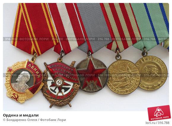 Купить «Ордена и медали», эксклюзивное фото № 316788, снято 11 мая 2008 г. (c) Бондаренко Олеся / Фотобанк Лори