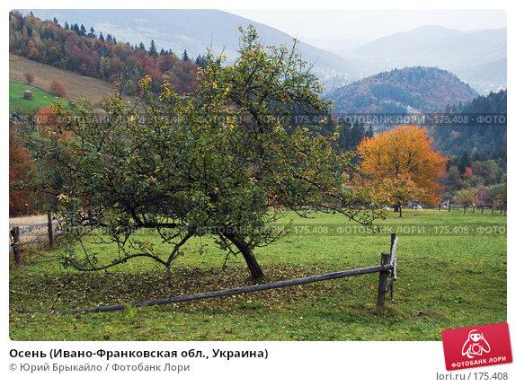 Осень (Ивано-Франковская обл., Украина), фото № 175408, снято 3 октября 2007 г. (c) Юрий Брыкайло / Фотобанк Лори