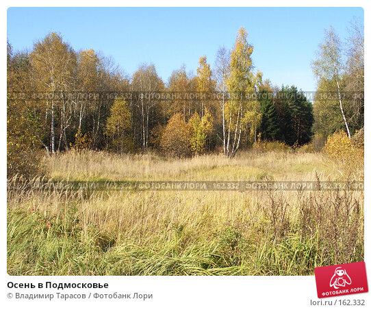 Купить «Осень в Подмосковье», фото № 162332, снято 10 октября 2005 г. (c) Владимир Тарасов / Фотобанк Лори