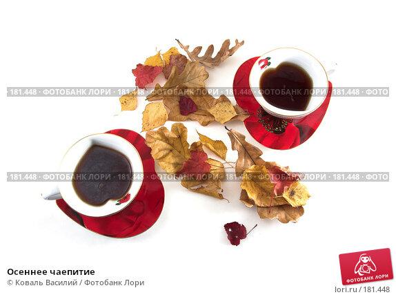 Купить «Осеннее чаепитие», фото № 181448, снято 22 ноября 2006 г. (c) Коваль Василий / Фотобанк Лори