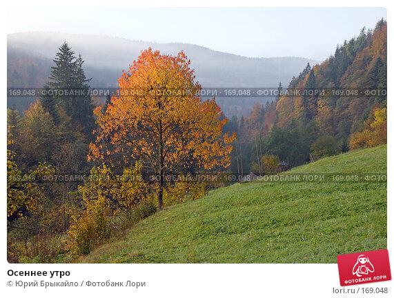 Купить «Осеннее утро», фото № 169048, снято 2 октября 2007 г. (c) Юрий Брыкайло / Фотобанк Лори