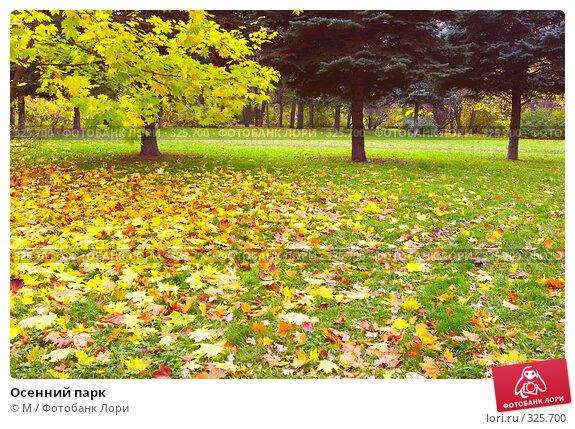 Осенний парк, фото № 325700, снято 5 декабря 2016 г. (c) Михаил / Фотобанк Лори