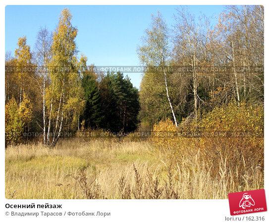 Осенний пейзаж, фото № 162316, снято 10 октября 2005 г. (c) Владимир Тарасов / Фотобанк Лори