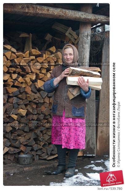 Купить «Особенности жизни в негазифицированном селе», эксклюзивное фото № 539780, снято 1 ноября 2008 г. (c) Ирина Солошенко / Фотобанк Лори