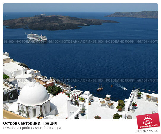 Остров Санторини, Греция, фото № 66100, снято 8 июня 2007 г. (c) Марина Грибок / Фотобанк Лори