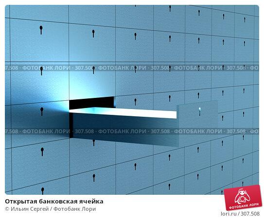 Открытая банковская ячейка, иллюстрация № 307508 (c) Ильин Сергей / Фотобанк Лори