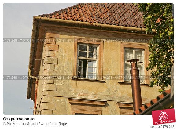 Открытое окно, фото № 179248, снято 6 августа 2007 г. (c) Ротманова Ирина / Фотобанк Лори