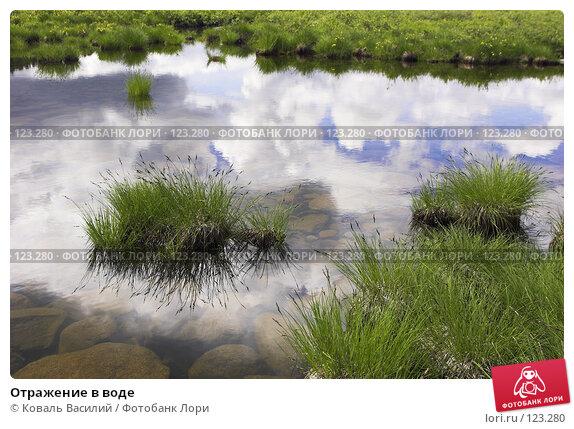 Купить «Отражение в воде», фото № 123280, снято 20 апреля 2018 г. (c) Коваль Василий / Фотобанк Лори
