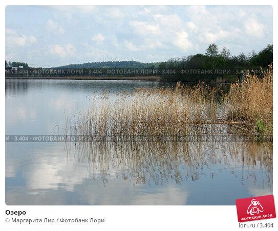 Озеро, фото № 3404, снято 20 мая 2006 г. (c) Маргарита Лир / Фотобанк Лори