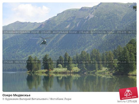 Купить «Озеро Медвежье», фото № 275628, снято 2 июля 2006 г. (c) Бурмакин Валерий Витальевич / Фотобанк Лори