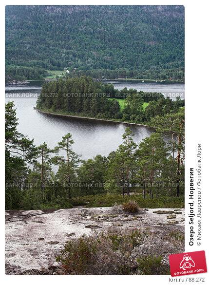 Озеро Seljord, Норвегия, фото № 88272, снято 10 июля 2006 г. (c) Михаил Лавренов / Фотобанк Лори