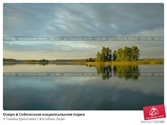 Озеро в Себежском национальном парке, фото № 132580, снято 24 июля 2006 г. (c) Галина Ермолаева / Фотобанк Лори