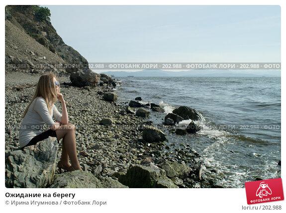 Ожидание на берегу, фото № 202988, снято 22 августа 2007 г. (c) Ирина Игумнова / Фотобанк Лори