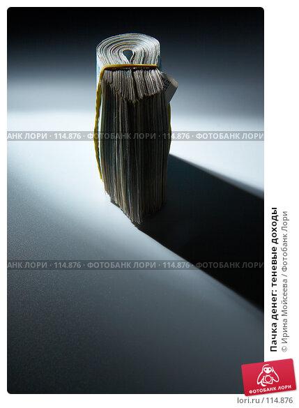 Пачка денег: теневые доходы, фото № 114876, снято 12 сентября 2007 г. (c) Ирина Мойсеева / Фотобанк Лори