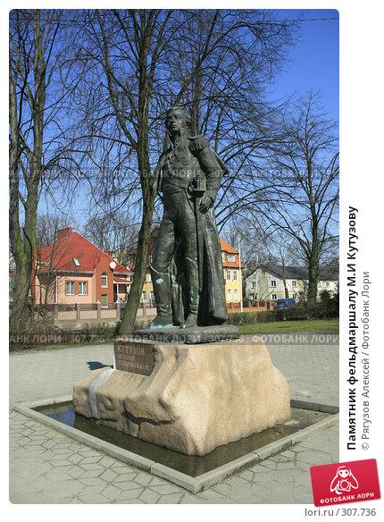 Купить «Памятник фельдмаршалу М.И Кутузову», фото № 307736, снято 29 марта 2008 г. (c) Рягузов Алексей / Фотобанк Лори