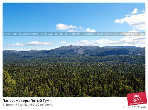 Панорама горы Пятый Тумп, фото № 2830476, снято 16 августа 2011 г. (c) Евгений Ткачёв / Фотобанк Лори