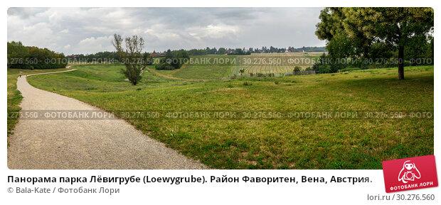 Купить «Панорама парка Лёвигрубе (Loewygrube). Район Фаворитен, Вена, Австрия.», фото № 30276560, снято 22 июля 2018 г. (c) Bala-Kate / Фотобанк Лори
