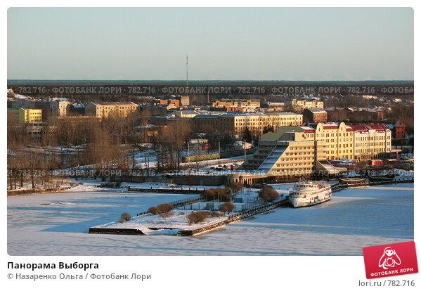 Купить «Панорама Выборга», фото № 782716, снято 2 января 2009 г. (c) Назаренко Ольга / Фотобанк Лори