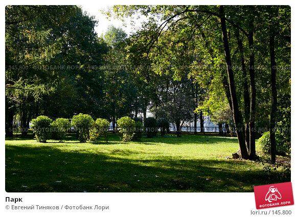 Парк, фото № 145800, снято 22 сентября 2007 г. (c) Евгений Тиняков / Фотобанк Лори