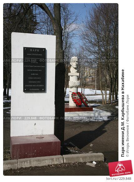 Парк имени Д.М. Карбышева в Нахабине, эксклюзивное фото № 229848, снято 22 марта 2008 г. (c) Игорь Веснинов / Фотобанк Лори