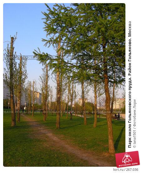 Купить «Парк около Гольяновского пруда. Район Гольяново. Москва», эксклюзивное фото № 267036, снято 28 апреля 2008 г. (c) lana1501 / Фотобанк Лори
