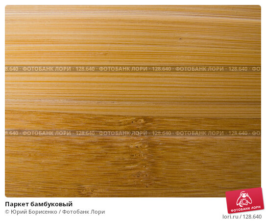 Паркет бамбуковый, фото № 128640, снято 11 декабря 2016 г. (c) Юрий Борисенко / Фотобанк Лори