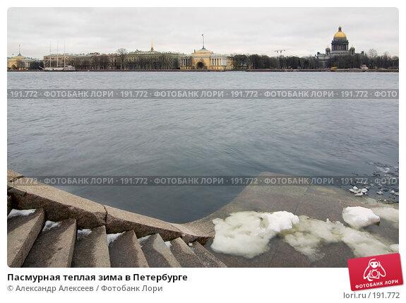 Пасмурная теплая зима в Петербурге, эксклюзивное фото № 191772, снято 25 января 2008 г. (c) Александр Алексеев / Фотобанк Лори