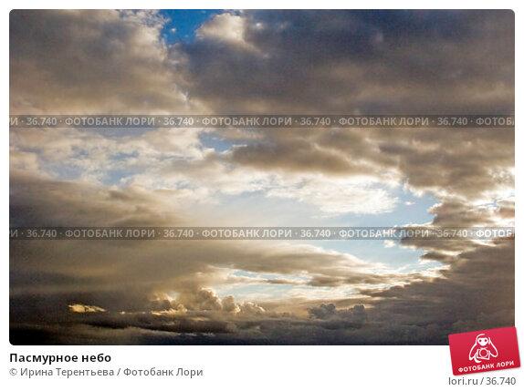 Пасмурное небо, эксклюзивное фото № 36740, снято 20 сентября 2005 г. (c) Ирина Терентьева / Фотобанк Лори