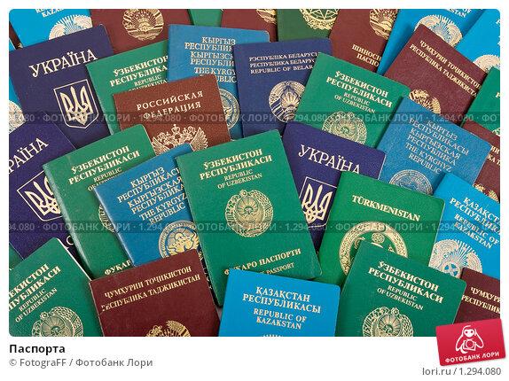 Купить «Паспорта», фото № 1294080, снято 10 декабря 2009 г. (c) FotograFF / Фотобанк Лори