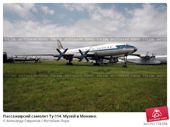 Пассажирсий самолет Ту-114. Музей в Монино., фото № 174536, снято 9 января 2004 г. (c) Александр Гаврилов / Фотобанк Лори