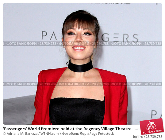 Купить «'Passengers' World Premiere held at the Regency Village Theatre - Arrivals Featuring: Jennette McCurdy Where: Los Angeles, California, United States When...», фото № 28739788, снято 14 декабря 2016 г. (c) age Fotostock / Фотобанк Лори
