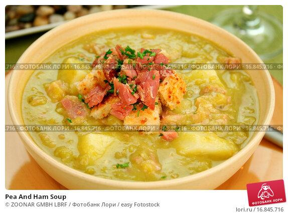 суп с ветчиной рецепт с фото