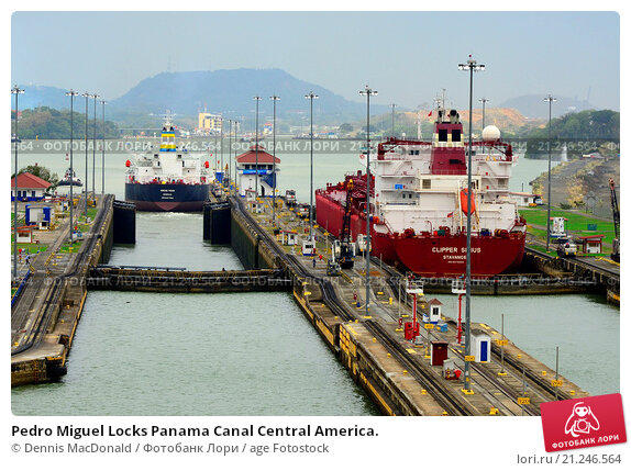 an overview of the panama canal in central america
