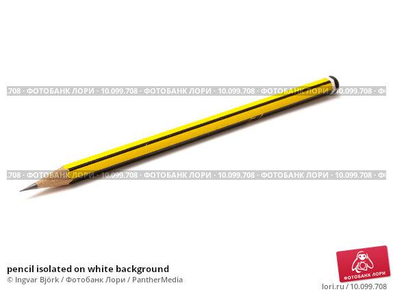 Купить «pencil isolated on white background», фото № 10099708, снято 21 августа 2018 г. (c) PantherMedia / Фотобанк Лори