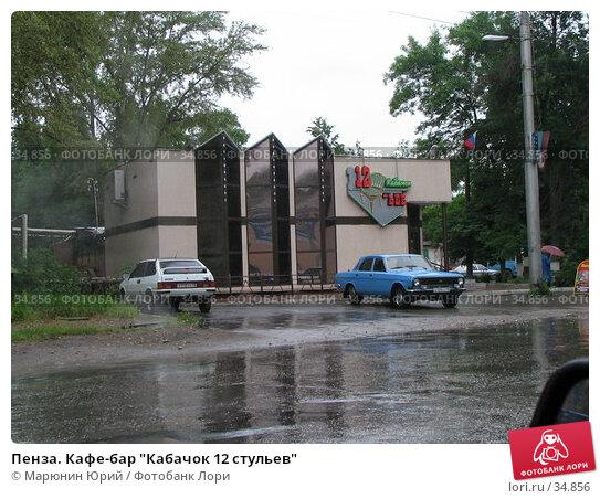 "Купить «Пенза. Кафе-бар ""Кабачок 12 стульев""», фото № 34856, снято 19 июня 2005 г. (c) Марюнин Юрий / Фотобанк Лори"