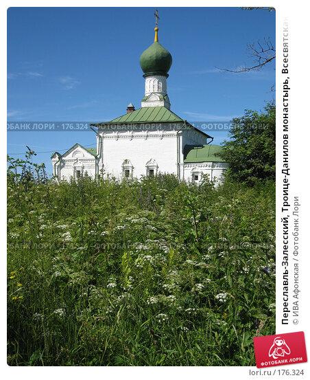 Переславль-Залесский, Троице-Данилов монастырь, Всесвятская церковь, фото № 176324, снято 5 июля 2006 г. (c) ИВА Афонская / Фотобанк Лори