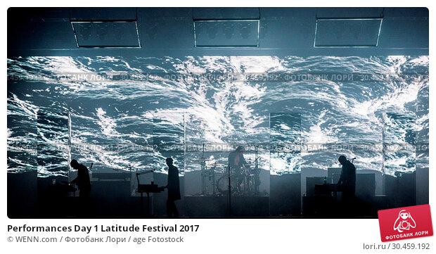 Performances Day 1 Latitude Festival 2017. Редакционное фото, фотограф WENN.com / age Fotostock / Фотобанк Лори