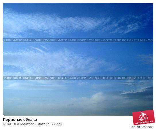Перистые облака, фото № 253988, снято 14 апреля 2008 г. (c) Татьяна Богатова / Фотобанк Лори