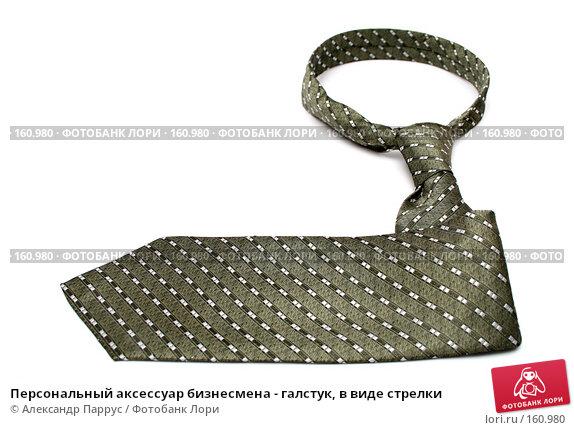 Персональный аксессуар бизнесмена - галстук, в виде стрелки, фото № 160980, снято 25 декабря 2006 г. (c) Александр Паррус / Фотобанк Лори