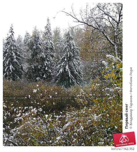 Купить «Первый снег», фото № 162352, снято 16 октября 2007 г. (c) Владимир Тарасов / Фотобанк Лори