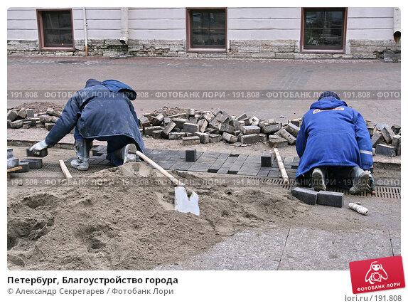 Петербург, Благоустройство города, фото № 191808, снято 31 января 2008 г. (c) Александр Секретарев / Фотобанк Лори