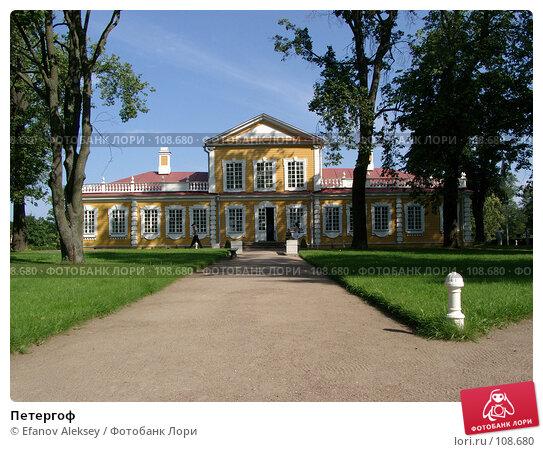 Петергоф, фото № 108680, снято 5 августа 2004 г. (c) Efanov Aleksey / Фотобанк Лори