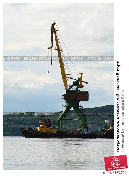 Петропавловск-Камчатский.  Морской  порт., фото № 163724, снято 30 июля 2007 г. (c) Николай Коржов / Фотобанк Лори
