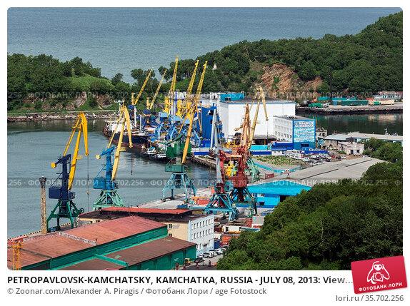 PETROPAVLOVSK-KAMCHATSKY, KAMCHATKA, RUSSIA - JULY 08, 2013: View... Стоковое фото, фотограф Zoonar.com/Alexander A. Piragis / age Fotostock / Фотобанк Лори