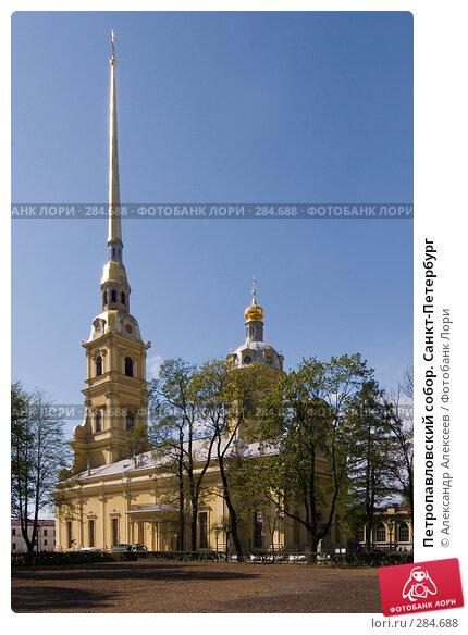 Петропавловский собор. Санкт-Петербург, эксклюзивное фото № 284688, снято 13 мая 2008 г. (c) Александр Алексеев / Фотобанк Лори
